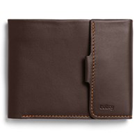 Bellroy Leather Coin Fold Brown