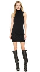 Wgaca Chanel Sleeveless Sweater Dress Black