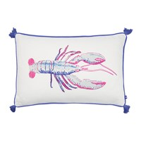Joules Lobby Lobster Cushion With Tassels