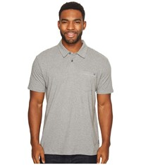 Billabong Standard Issue Polo Grey Heather Men's Clothing Gray