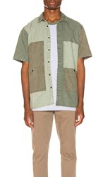 Publish Lix Button Up In Green. Olive