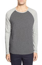 Men's Vince Raglan Long Sleeve Baseball T Shirt