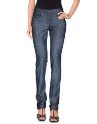 Byblos Denim Denim Trousers Women Blue