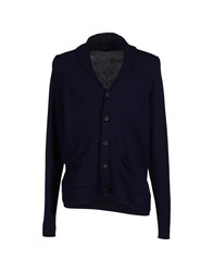 Nardelli Knitwear Cardigans Men Dark Blue