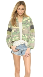 Wildfox Couture Classic Camo Hoodie Multi