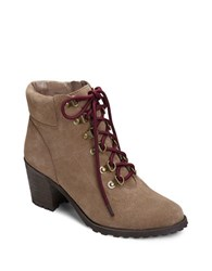 Aerosoles Inception Side Zip Ankle Boots Taupe