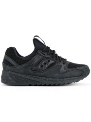 Saucony Weave Sneakers Men Rubber 9 Black