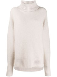 N.Peal Oversized Sweater Neutrals