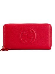 Gucci 'Soho' Wallet Red