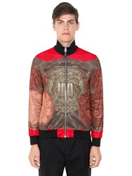 Givenchy Baroque Dollar Techno Jersey Jacket
