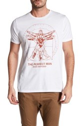 Junk Food The Perfect Man Tee White
