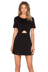 Blaque Label Cut Out Fit And Flare Dress Black
