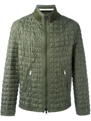 Ermanno Scervino Textured Padded Jacket Green