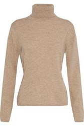 N.Peal Cashmere Turtleneck Sweater Sand