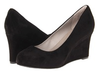 Rockport Seven To 7 W85 Wedge Pump Black Suede High Heels