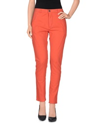 Superfine Casual Pants Coral