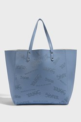 Paul And Joe Sister Josua Perforated Tote Blue