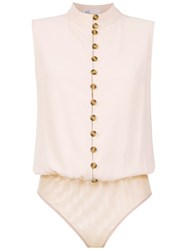 Spacenk Nk Buttoned Bodysuit Pink