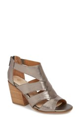 Isola Rona Sandal Anthracite Metallic Leather