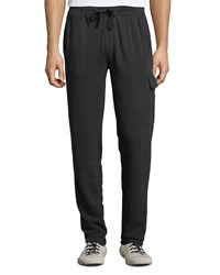 Atm Anthony Thomas Melillo Washed French Terry Lounge Pants Charcoal