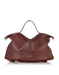 The Bridge Unica Leather Tote Burgundy