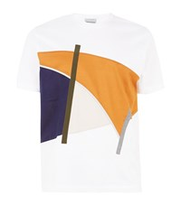 Solid Homme Abstract Shape Sweatshirt Male White