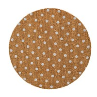 Bloomingville Natural Rose Door Mat