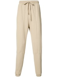 Stampd Drawstring Track Pants Nude Neutrals
