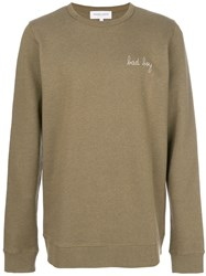 Maison Labiche Classic Knitted Sweater Cotton Xl Brown