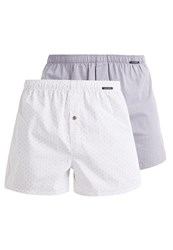 Schiesser 2 Pack Boxer Shorts Taupe