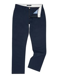 Howick Men's Smith 5 Pocket Twill Trouser Navy
