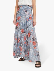 French Connection Cateline Maxi Skirt Summer Surf
