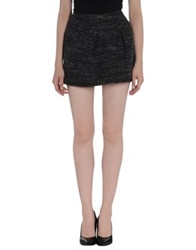 Paul And Joe Sister Mini Skirts Steel Grey