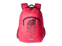 The North Face Haystack Cabaret Pink Cosmic Blue Backpack Bags
