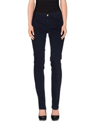 Siviglia Trousers Casual Trousers Women Dark Blue