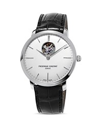 Frederique Constant Slimline Automatic Heart Beat Watch 40Mm White Black