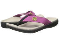 Spenco Pure Toe Post Violet Women's Shoes Purple