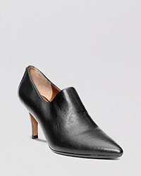 Donald J Pliner Pointed Toe Ankle Booties Tanna Stretch High Heel Black