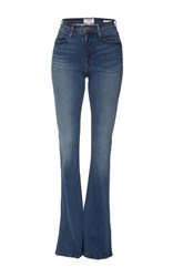 Frame Denim Le High Rise Flare Jeans Medium Wash