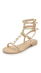 Rebecca Minkoff Georgina Studded Sandals Gold