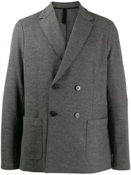Harris Wharf London Double Breasted Blazer Green