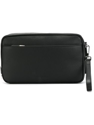 Christian Dior Dior Homme Front Pocket Clutch Black