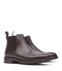 Reiss Chalmer Leather Chelsea Boots In Brown Mens