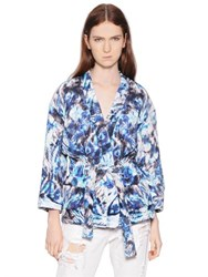 Iro Printed Viscose Crepe Jacket