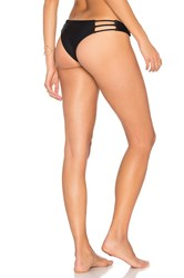Bettinis Strappy Cheeky Bottom Black