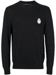 Billionaire Out Jumper Men Cotton Cashmere Xl Black