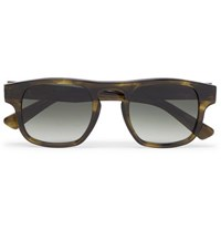 Officine Generale Francois Pinton Dundee D Frame Acetate Sunglasses Green