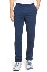 Ted Baker Men's London Golftro Water Resistant Chinos Navy
