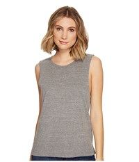 Richer Poorer Muscle Tank Top Heather Grey Sleeveless Gray