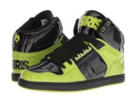 Osiris Nyc 83 Classic Lime Black Lime Shoes Green